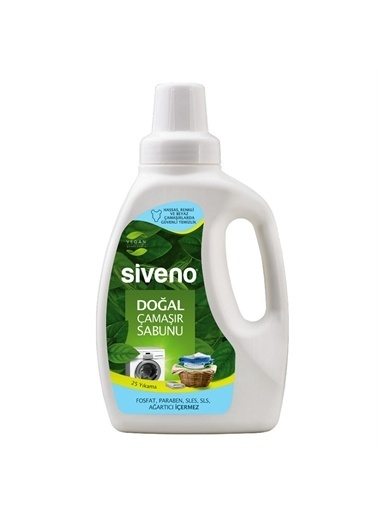 Siveno Siveno Doğal Çamaşır Sabunu 750 ml,RNKSZ Renksiz